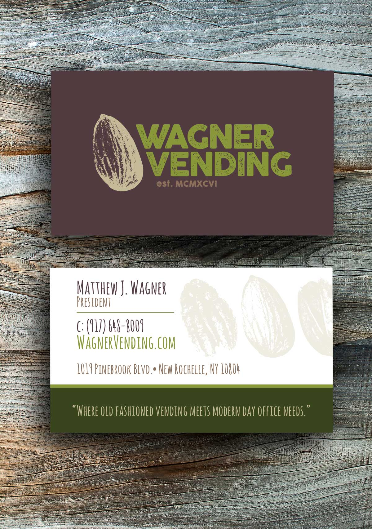 Wagner vending business card struvedesigns wagner vending business card colourmoves